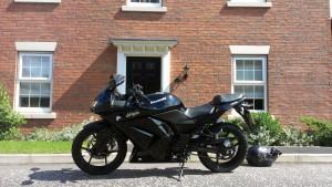 'Nikita' - my Kawasaki Ninja 250R