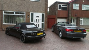 The MX-5 BBR turbo and the Beamer