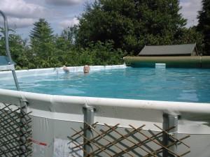 Finally enjoying a swim in my own pool!