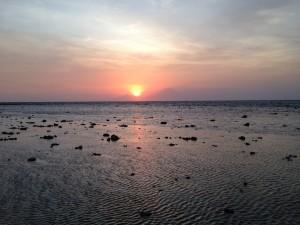 Gili T sunset, Bali