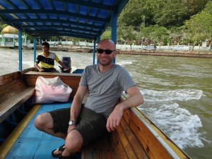 River boat ride in Brunei